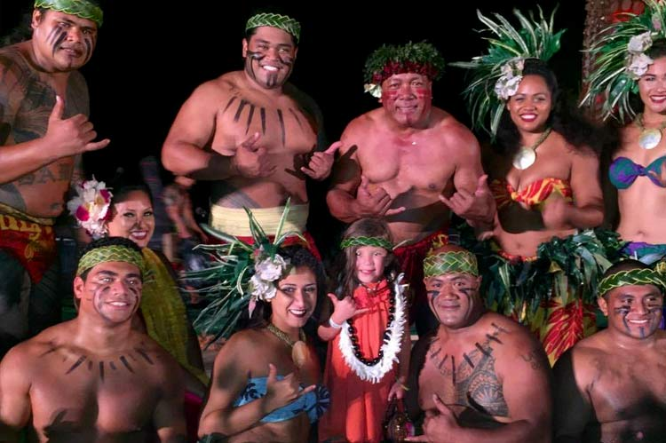 At This Luau, You're Part of the Ohana