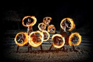 Brilliant Fire Knife Dancing