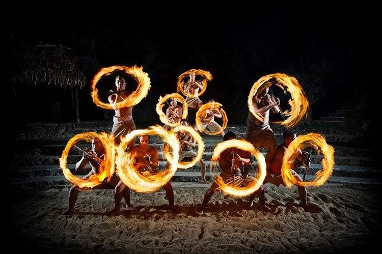The Best Luau To See Fire Knife Dancing