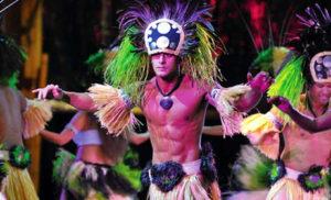 Enjoy a spectacular show at Luau Kalamaku