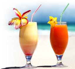 Popular Luau Cocktails