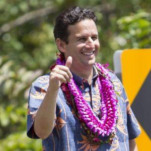 Hawaii Senator Brian Schatz is often seen wearing an aloha shirt