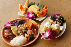 Feast on delicious island cuisine