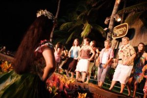 Learn to hula at Germaine's Luau