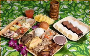Germaine's luau Hawaiian-style cuisine