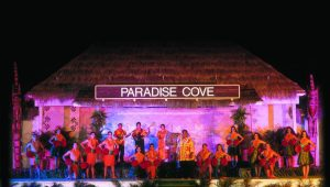 Evening entertainment at Paradise Cove Luau