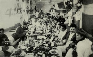 A royal luau in the 1880s