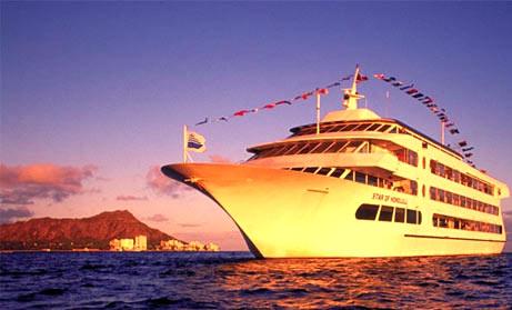 Sunset Dinner Cruise & Luau Show